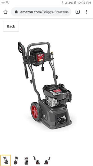 Briggs and Stratton portable pressure / power washer. Gas not electric for Sale in Portland, OR