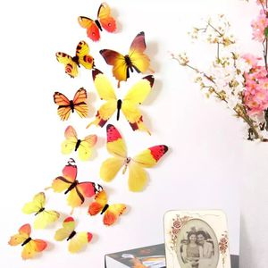 12pcs/lot 3D PVC Wall Stickers Magnet Butterflies DIY Fridge Magnet stickers Home Decor Poster Kids Rooms for Sale in Temecula, CA