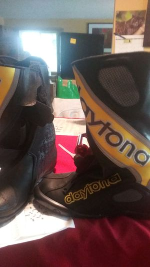 Motorcycle boots Daytona New size 40 Euro for Sale in Seattle, WA