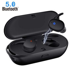 New Wireless Earbuds,Upgraded Bluetooth 5.0 Bluetooth Earphones Deep Bass True Wireless Earbuds Stereo Hi-Fi Sound Wireless Headphones with Mic Charg for Sale for sale  Brooklyn, NY