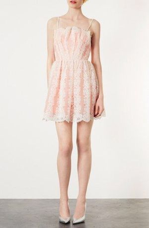 TOPSHOP Petite Strappy Lace Prom Dress for Sale in Garden Grove, CA