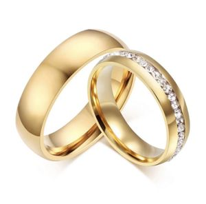 Gold Over Stainless Steel w/CZ for Sale in Winterport, ME