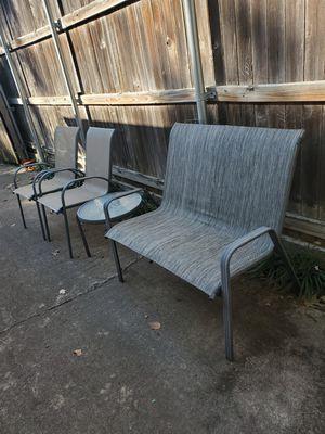 Set para patio en muy Buenas condiciones for Sale in Mesquite, TX