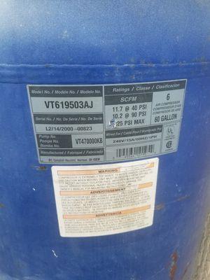 Compressor tank and motor for Sale in Miami Gardens, FL