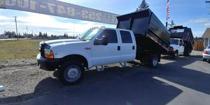 1999 FORD F450 CREW DUMP TRUCK for Sale in Spanaway, WA