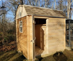 New 6' x 8' Pine Chicken Coop Shed Schickenshed for Sale in Rehoboth, MA