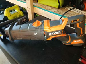 SAWZALL RIDGID BATTERY NOT INCLUDED for Sale in Phoenix, AZ