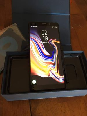 Samsung Galaxy Note 9 128gb Black for Sale in KIMBERLIN HGT, TN