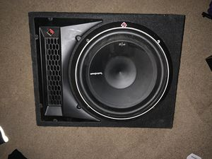 Sub and amp. Work great for Sale in Seattle, WA