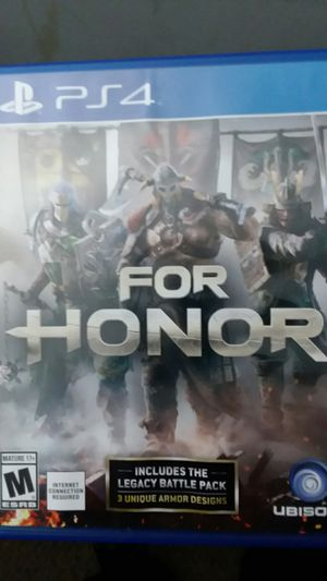 For Honor PS4 for Sale in Durham, NC