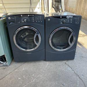 Lavadora y secadora Secadora eléctrica de carga frontal GE con 3 meses de garantía Entrega gratuita instalación <<< hablo español for Sale in Oakland, CA