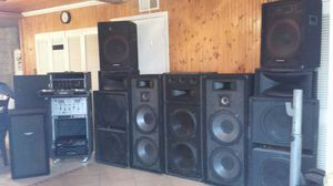COMPLETE DJ EQUIPMENT for Sale in Balch Springs, TX