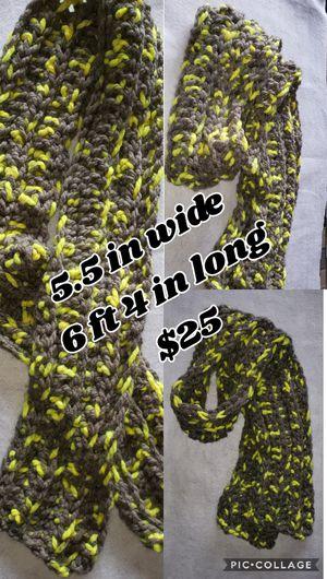 Handmade crochet scarf for Sale in Benton, KY