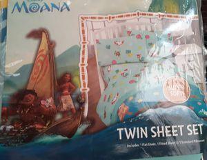 Disney moana sheet set. New for Sale in Duluth, GA