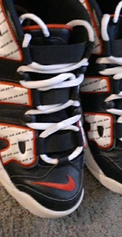 Nike Uptempo Pinstripe Size 9 Run Like 10 for Sale in Peoria,  IL