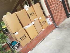 Free cardboard boxes and paper for Sale in Dallas, TX