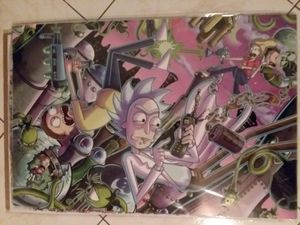 Rick and Morty poster for Sale in Oxnard, CA