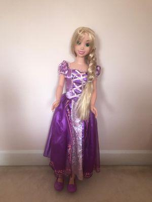 Large rapunzel doll for Sale in Cabin John, MD