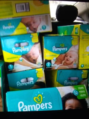 Pampers Value Boxes for Sale in Greenville, SC