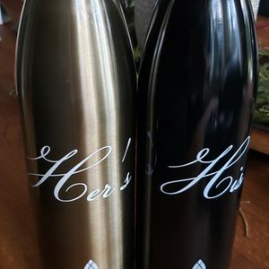 Unused His And Hers MANNA Insulated Bottles for Sale in North Bend, WA