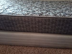 Twin matress and bed box for Sale in Houston, TX