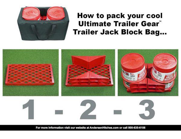 3602-M - Ultimate Trailer Gear Trailer Jack Block Bag