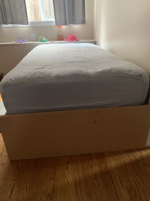 Twin mattress & bed frame for Sale in San Francisco, CA
