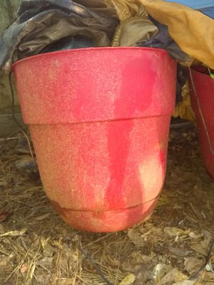 I have to color is red 15inch flower pot address in the description for Sale in Stone Mountain, GA