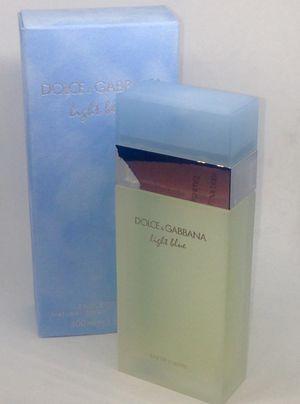 Dolce & Gabbana Light Blue By Dolce & Gabbana For Women. Eau De Toilette Spray 3.3 Oz... Dolce & Gabbana for Sale in Pembroke Pines, FL