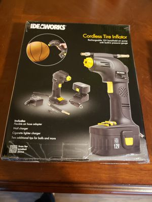 Ideaworks Cordless Tire Inflator for Sale in Baltimore, MD