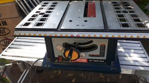 """Ryobi 10"""" table saw for Sale in ROWLAND HGHTS, CA"""