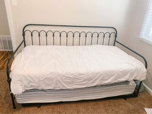 Black metal daybed for Sale in Salt Lake City, UT