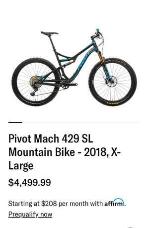 2018 Pivot Mach 429SL for Sale in Spokane, WA