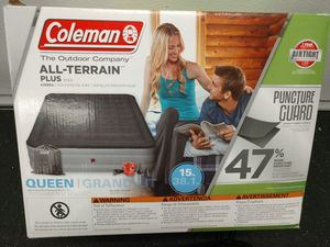 COLEMAN All Terrain Plus Queen Air Bed for Sale in Milton, WA
