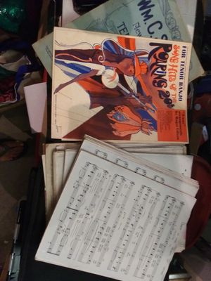 Banjo tenor sheet music all for 19.99 for Sale in Pinellas Park, FL