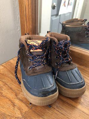 Toddler 9 waterproof snow boots for Sale in Terre Haute, IN