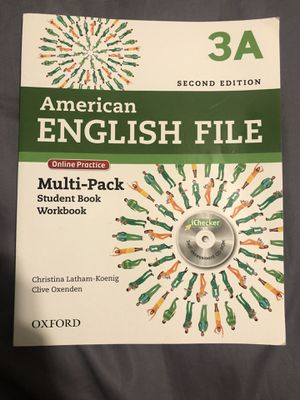 New American english File 3A textbook with CD for Sale in Sunrise, FL