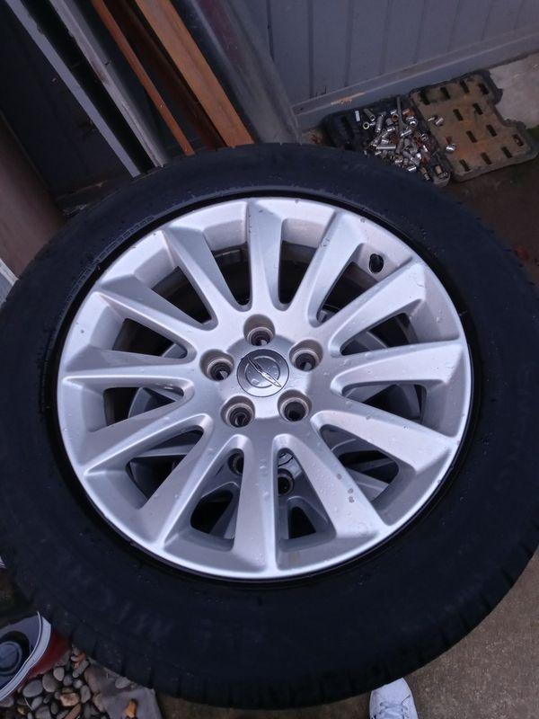 Chrysler Rims 17s