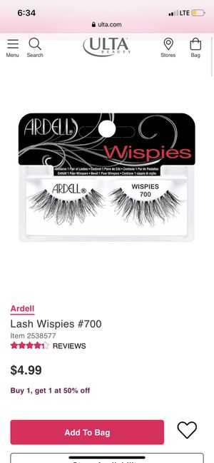 Ardell Wispies Lashes for Sale in Katy, TX