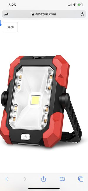 Portable Work Lights, 4400 mAh Solar LED for Sale in Annandale, VA