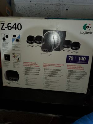 Pc/gaming surround sound for Sale in Clifton, NJ