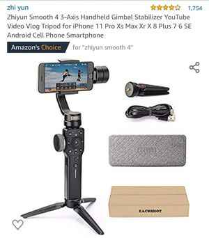 Zhiyun Smooth 4 3-Axis Handheld Gimbal for Sale in York, PA