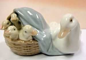 Lladro Porcelain Ducklings Figurine for Sale in Fort Lauderdale, FL