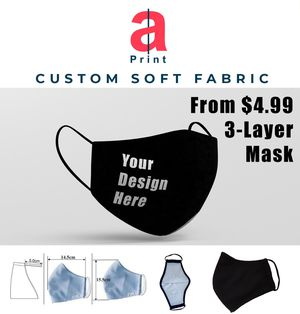 3 layer soft fabric Mask 25 pc for Sale in Houston, TX