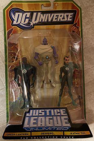 Fan Collection Green Lantern, Despero & Katma Tui Action Figures 2009 Mattel MOC for Sale in Santa Ana, CA