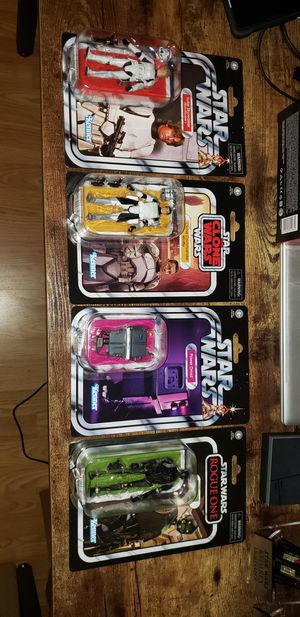 Vintage Collection Star Wars for Sale in Moreno Valley, CA