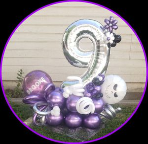 Nightmare before Christmas Balloon Bouquet for Sale in Kingsburg, CA