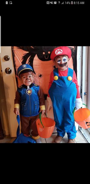 Selling 2 costumes for Sale in Grand Prairie, TX