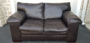 Brown leather sofa for Sale in Columbus, OH