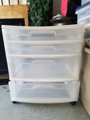 Plastic large drawer set for Sale in Lake Worth, FL